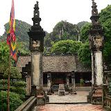 Temple dédié au roi Dinh à Hoa Lu, ancienne capitale au XXème siècle