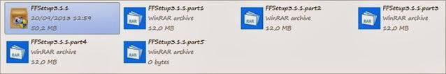 Membagi File Menjadi Beberapa Bagian dengan WinRar 03
