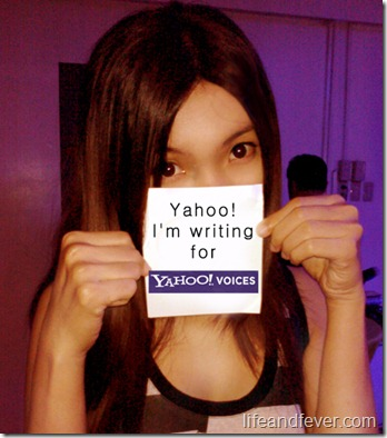 Stef dela Cruz on Yahoo! Voices