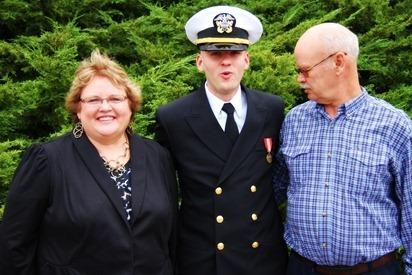 Mark Navy OCS Grad 18