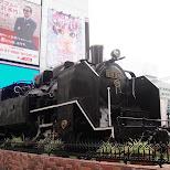 steam train in tokyo in Tokyo, Tokyo, Japan