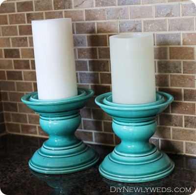 turquoise-candle-holders