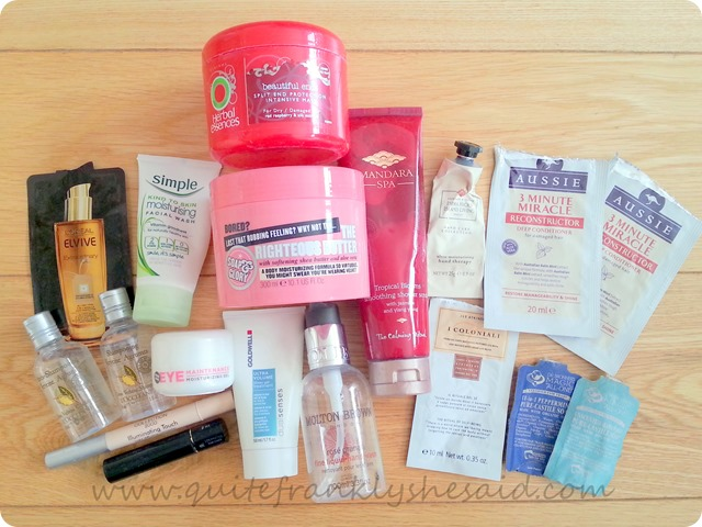March Empties