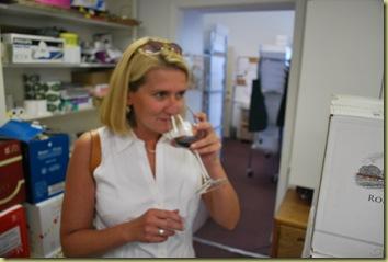 2011-07-06 Lisa tasting Wine
