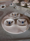 A selection of Harry Winston sapphire rings.