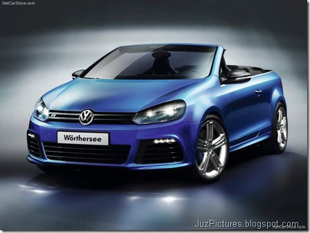 VW Golf R Cabriolet Concept1