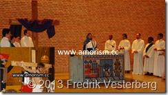 DSC06827 (1) skådespel Passionsspel i Sankta Eugenia katolska kyrka. Med amorism