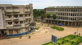 Centre ville de Kisangani