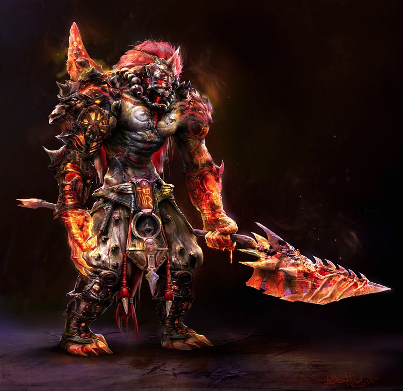Lava warrior by noah kh d3j7zac