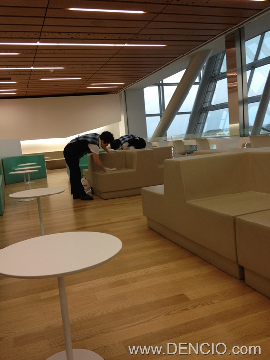 Korean Air Lounge Incheon Airport 43