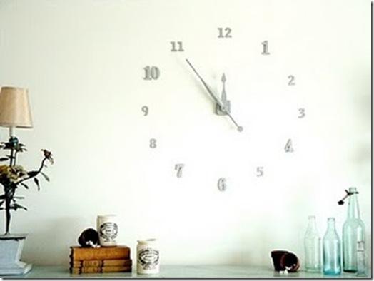 fabriquer une cool horloge murale bricolage forum vie pratique