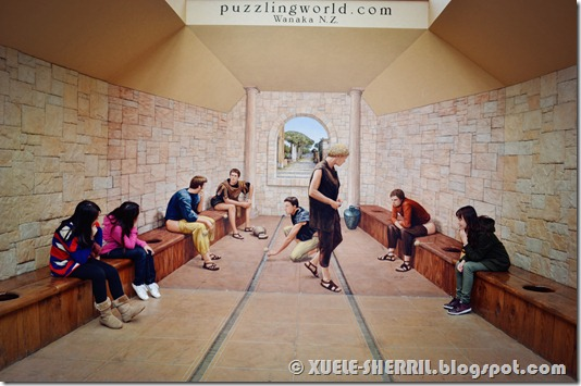 wanaka - puzzling world