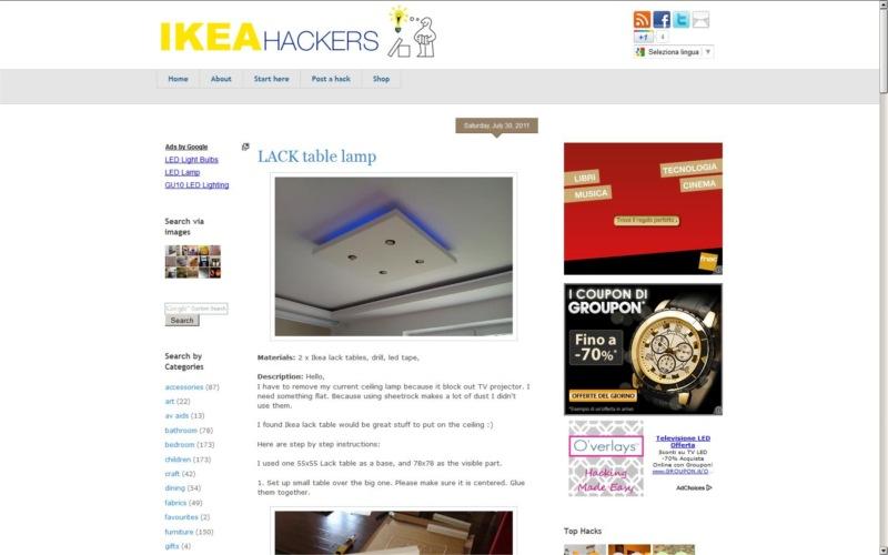 Siti preferiti ikeahackers come modificare mobili e - Modificare mobili ikea ...