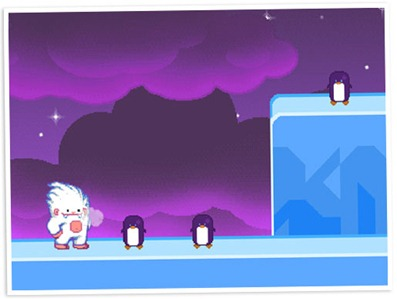 Moshi Games Snow Drift Launched