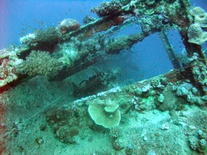 Deck Starboard side