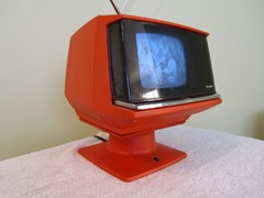 Sharp portable television, model 3S-111R