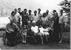 B&W family pic