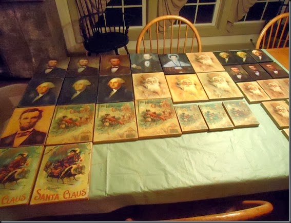 prints on table 2