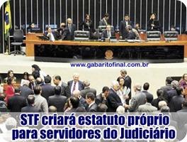 STF CRIARÁ ESTATUTO PRÓPRIO