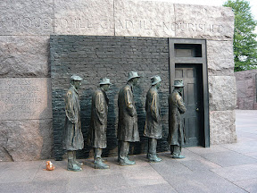 CM FDR Memorial soup line