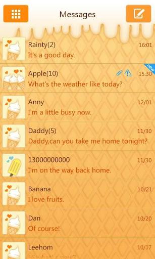 GO短信甜品屋主题