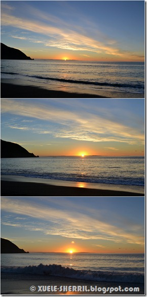 sunrise sequence