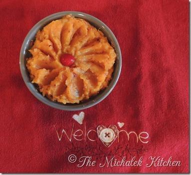 Sweet Potato Cranberry Dish