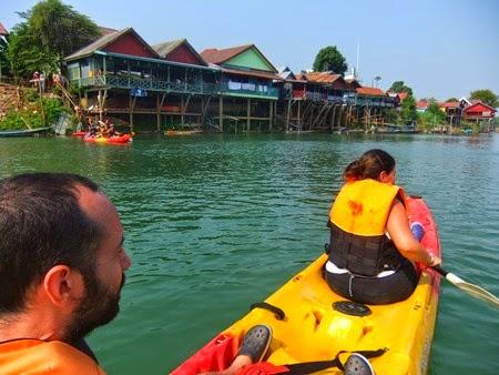 en kayak por las 4000 Islas