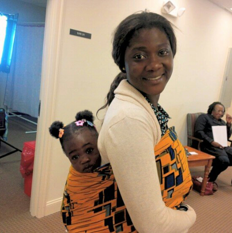 Photo Mercy Johnson With Her