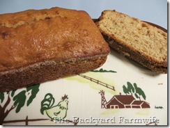 applesauce oatmeal amish bread - The Backyard Farmwife