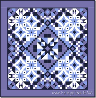 Blue Solid Quilt