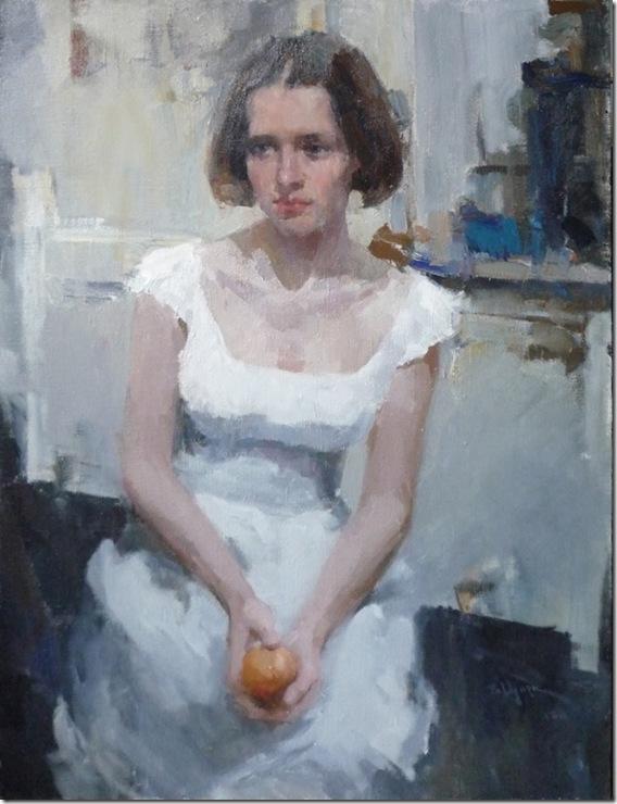 Portrait of V. Kutukova-Vadim-Suvorov-ENKAUSTIKOS