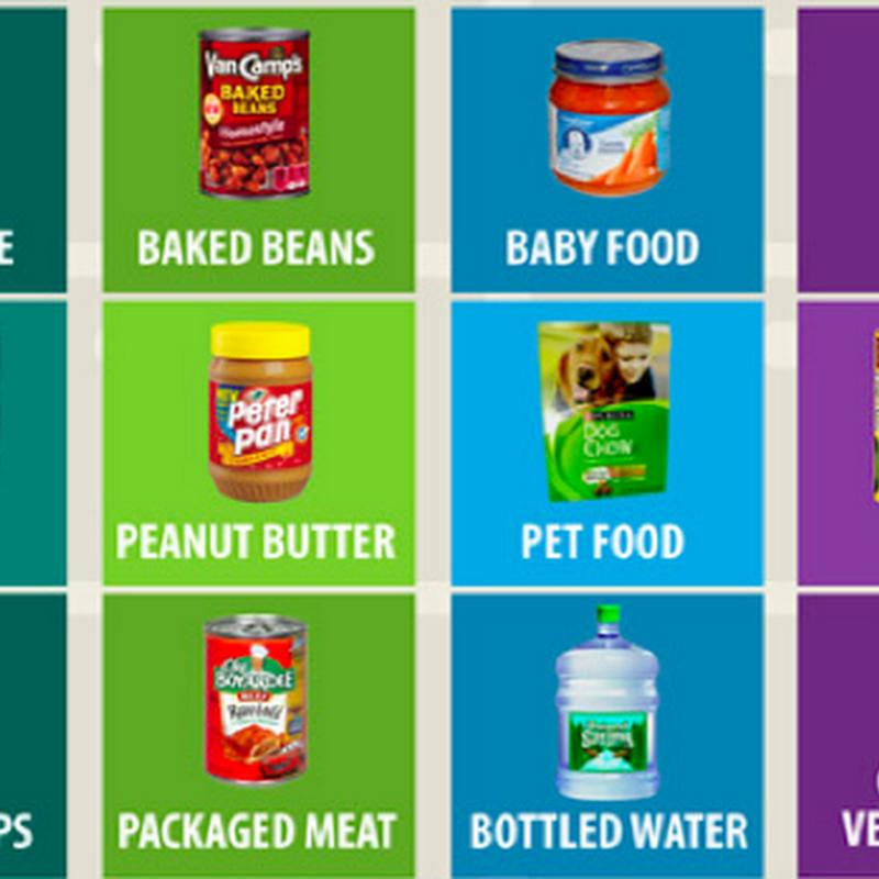 El monopolio de las marcas de alimentos