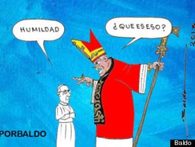 Papa humildad