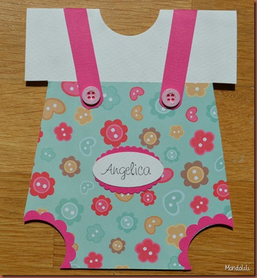 onesie card angelica