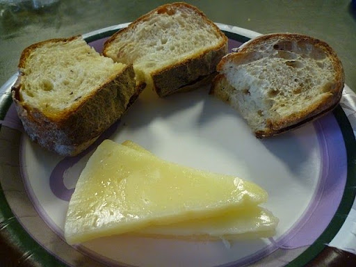 Manchego Cheese and Amy's Onion-Potato Bread
