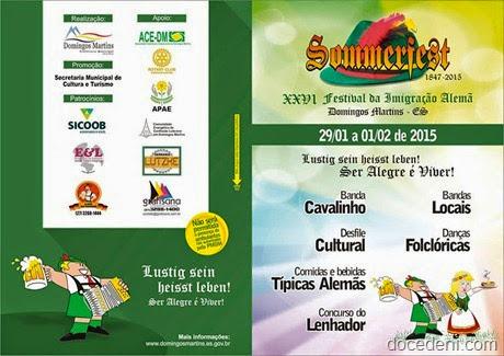 convite summerfest