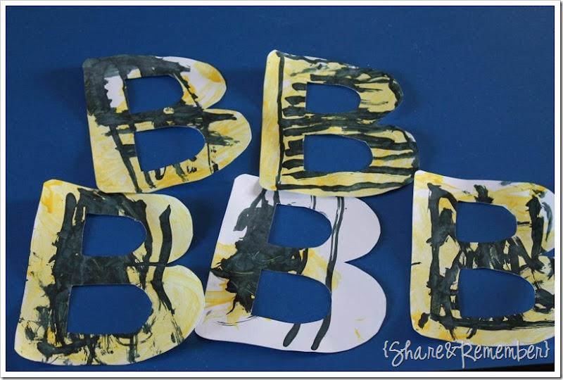 letter b's