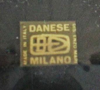Enzo Mari Danese vase or desk accessory signature