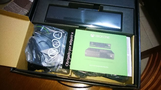 Unboxing Xbox One / Kinect