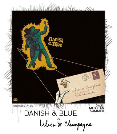 Danish & Blue by Lilacs & Champagne