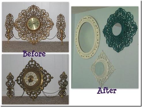 080111 Lovely Etc - Clock Makeover - collage