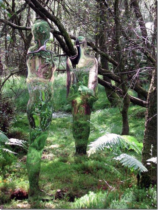 Скульптуры-призраки из Шотландии