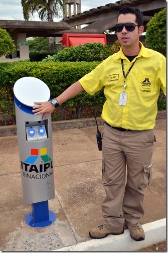 Totem de Abastecimento para o Veiculo Eletrico em Itaipu BlogTurFoz Luiz