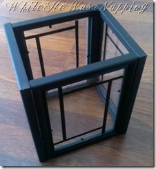how to make a lantern out of picture frames