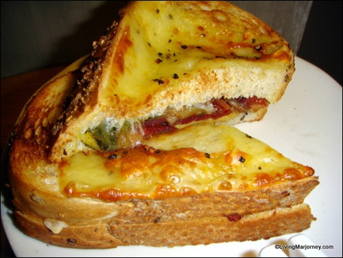 Starbucks Bacon and Cheese on Italian Country Bread