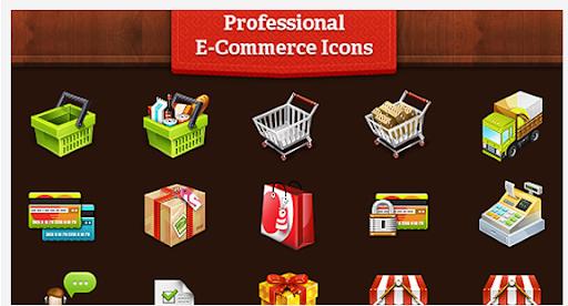 Free E-Commerce Icon Set