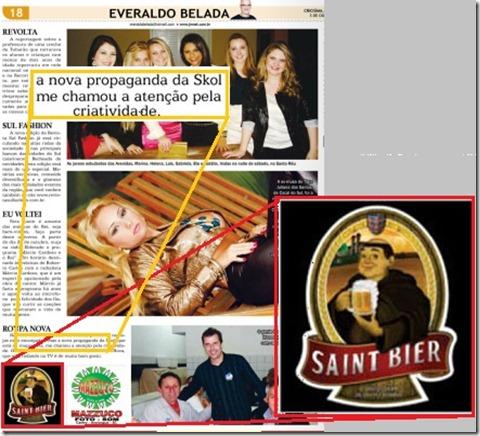 Skol x Saint Bier