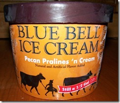 The best ice cream in the world - Blue Bell