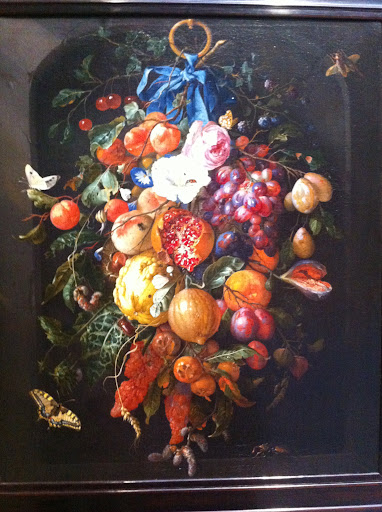 Jan Davidz de Heem's Festoon of Fruits and Flowers